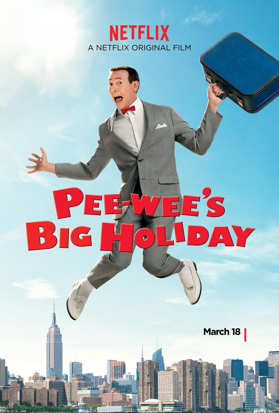 Netflix Pee-wee's Big Holiday Movie Poster